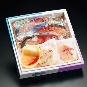 <味の十字屋> かぶら寿し(ぶり)・ぶり味噌漬詰合せ(11月中旬以降より発送予定)[冷蔵]【お歳暮特集 贈り物 北陸 富山 お土産 おかず 魚介 海鮮 シーフード 御挨拶 ギフト 贈答 つけもの