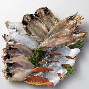 【袋あり】<味の十字屋>一夜干・鮭詰合せ[冷凍]【贈り物 北陸 富山 石川県 お土産 干物 魚介 御挨拶 ギフト 贈答】