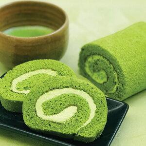 【袋なし】<FUJIOKAEN.>抹茶ロールケーキ[冷凍]【お歳暮 贈り物 北陸 富山 緑茶 お茶 お取り寄せ のし可】