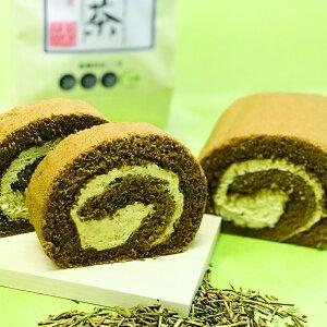 <FUJIOKAEN.>【袋あり(有料)】ほうじ茶ロールケーキ[冷凍]【お歳暮 贈り物 北陸 富山 緑茶 お茶 お取り寄せ のし可】