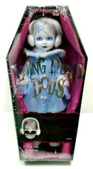 客廳死亡多爾(Living Dead Dolls)系列12 FROZEN CHARLOTTE(結霜的sharurotto)