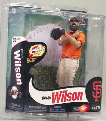 【まもなく再入荷 4】マクファーレントイズ MLBフィギュア シリーズ30/ブライアン・ウィルソン 415体限定/サンフランシスコ・ジャイアンツ/mcfarlane