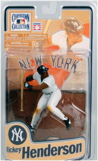 McFarlane Toys MLB Cooperstown series 8 and Rickey Henderson/New York Yankees