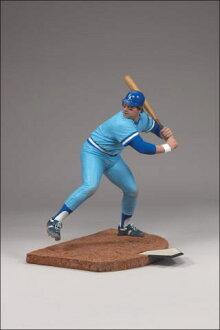 麦克法兰玩具MLB库巴市镇系列6乔治·布雷特/kansasushiti·皇家队