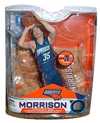 【まもなく再入荷 1510】マクファーレントイズ NBAフィギュア シリーズ14/アダム・モリソンvariant/シャーロット・ボブキャッツ【05P12Oct15】