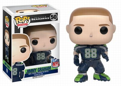 【まもなく再入荷 1702】NFL FUNKO POP シリーズ3 ジミー・グラハム(シアトル・シーホークス)