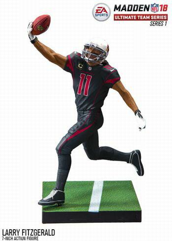 【まもなく再入荷 1803】EA Sports Madden NFL 18 シリーズ1/ラリー・フィッツジェラルド/アトランタ・ファルコンズ