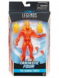 【まもなく入荷 1808】ハズブロ マーベルレジェンド ファンタスティック・フォー The Human Torch Marvel Legends