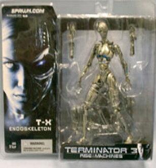 McFarlane Toys MOVIE series / Terminator 3 T-X skeleton /T3
