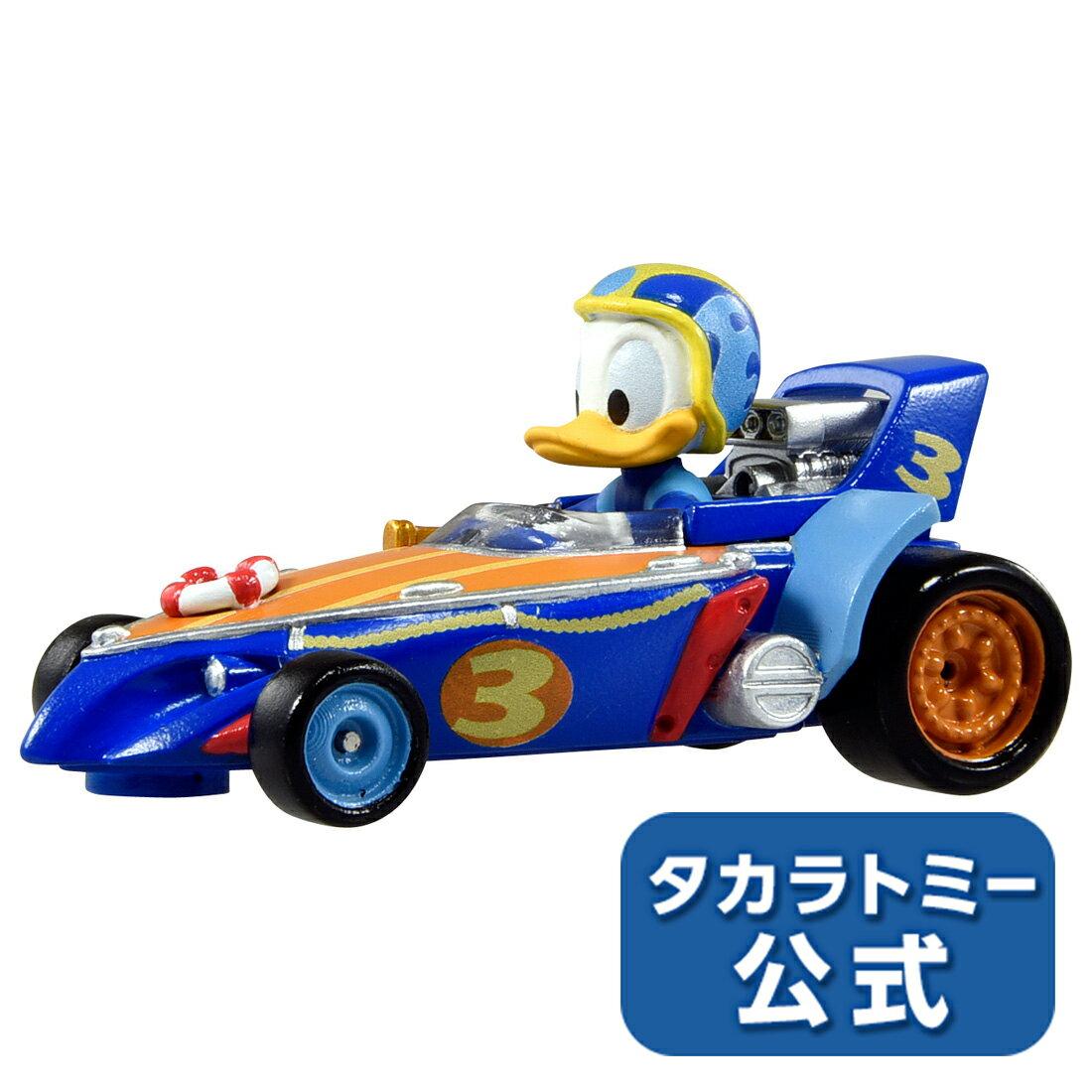 ミッキーマウスとロードレーサーズ トミカ MRR-02 ダック・クルーザー ドナルドダック【Disney_d】