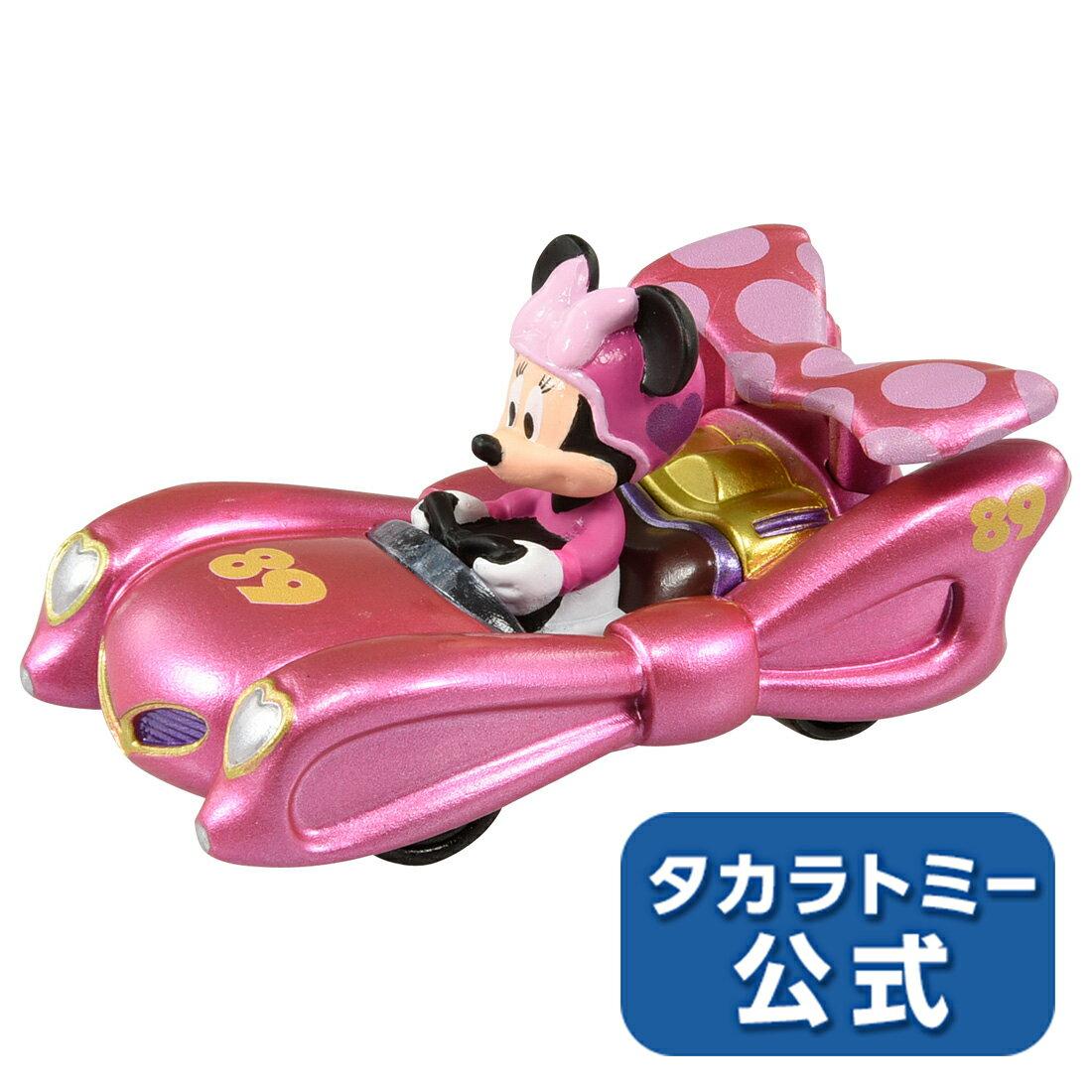 ミッキーマウスとロードレーサーズ トミカ MRR-05 ピンク・サンダー ミニーマウス【Disney_d】