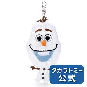 ディズニーキャラクター ぬいぐるみパスケース アナと雪...