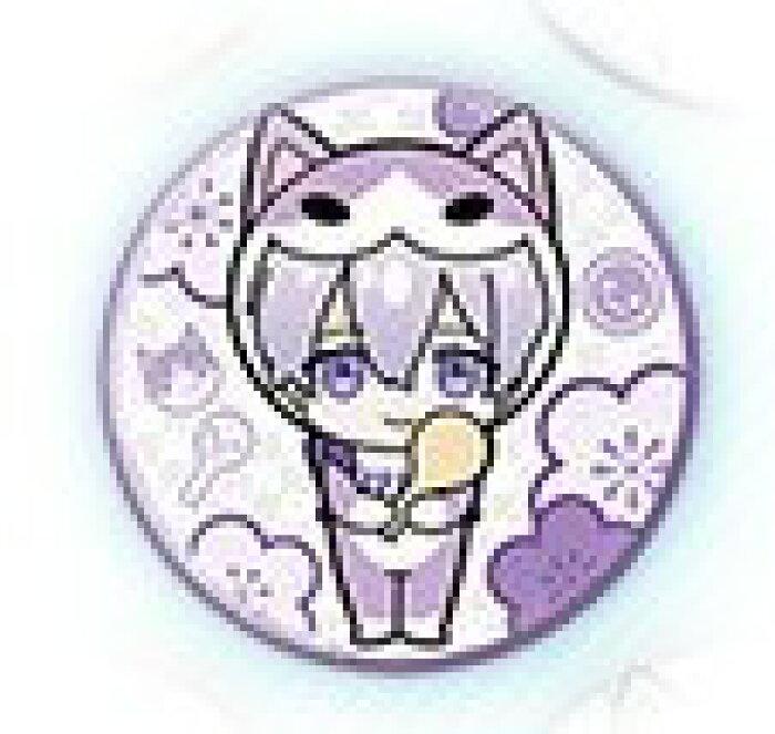 【単品:逢坂壮五(着ぐるみ)】■アイドリッシュセブン × 太鼓の達人 缶バッジ