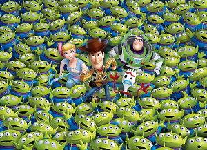 1000ピース トイ・ストーリー4 ジグソーパズル (69cm×50cm) Disney Toy Story 4 ウッディ バズ エイリアン [並行輸入品] 知育玩具 おうち時間 子供 小学生 大人 脳トレ 知育玩具 プレゼント ギフト