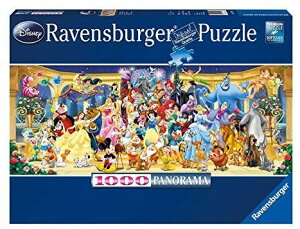 【14時までのご注文で翌日出荷】 1000ピース ジグソーパズル ディズニーキャラクター大集合 Ravensburger Disney Panoramic 1000 Piece Jigsaw Puzzle 日本未発売 クリスマスプレゼント 誕生日プレゼント ギ