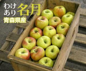 【送料無料】【訳あり】青森県産 名月【20kg(45〜60個入)】【青森県 名月 りんご リンゴ 贈答用 お歳暮 贈り物 ギフト お歳暮 フルーツ お取り寄せ うまい 果物】