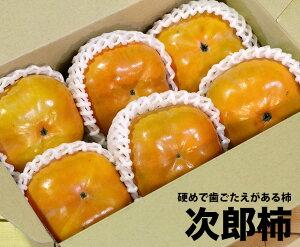 【6個】愛知県産 次郎柿【柿 家庭用 贈り物 贈答 お祝い お返し お歳暮】