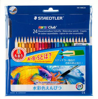 ノリスクラブ水彩色鉛筆 24色セット【RCP】