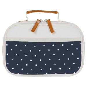 裁縫セット 小学生 大人 女の子 バッグ ソーイングセット ドットネイビー 紺