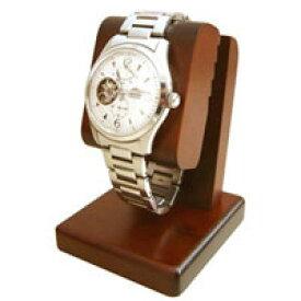 ウォッチスタンド sc81 時計スタンド,腕時計,簡単に美しくディスプレイ,扱い方はとても簡単,腕時計を置時計として,三つ折れバックル【豊岡クラフト】木製品を工房より直送!