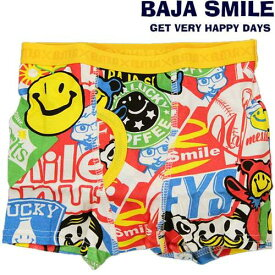 Baja Smileパロディーワッペン柄ボクサーパンツ95〜145cm2168306