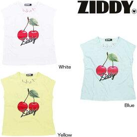 ZIDDY/ジディーチェリープリント半袖Tシャツ2016SS1235-72000