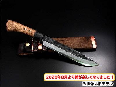 土佐鍛造ハンティングナイフ青 片刃 240