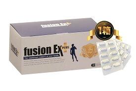 【公式】フュージョン EX プラス 1箱(30カプセル)[ L-シトルリン クラチャイダム マカ 亜鉛 冬虫夏草 fusion EX Plus 男性向け 自信 増大サプリ 活力 送料無料 キャッシュレス 5%還元 楽天 ]※精力剤ではなくサプリメントです。