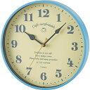 激安掛け時計 カフェコンフォータブル ブルー