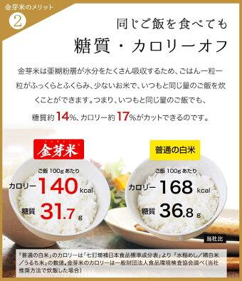 【新米】金芽米ベストセレクト10kg【5kg×2袋・送料込】【30年産】※無洗米・免疫ビタミンLPS(リポポリサッカライド)が豊富(きんめまい・お米)【ギフトおすすめ】