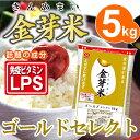 【29年産・新米】金芽米 ゴールドセレクト 5kg【送料込】※無洗米・LPS(リポポリサッカライド)が豊富で免疫力アッ…