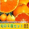 【送料無料】旬の柑橘4種セット