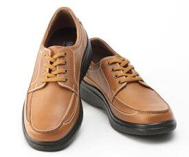 ボブソン 靴 本革 レザー カジュアルシューズ ウォーキング スニーカー 軽量 3E メンズ 紳士 BOBSON 5207 キャメル