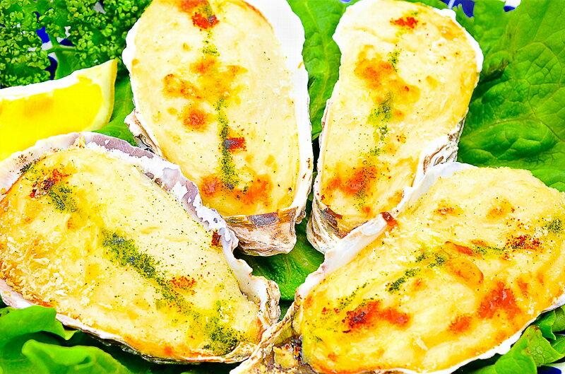 送料無料 牡蠣グラタン 殻付き牡蠣グラタン 4個×3パック 合計12個 新鮮な牡蠣の旨味で大人気商品 牡蠣グラタン かきグラタン カキグラタン 牡蠣 カキ かき 築地市場 業務用 冷凍食品 ギフト