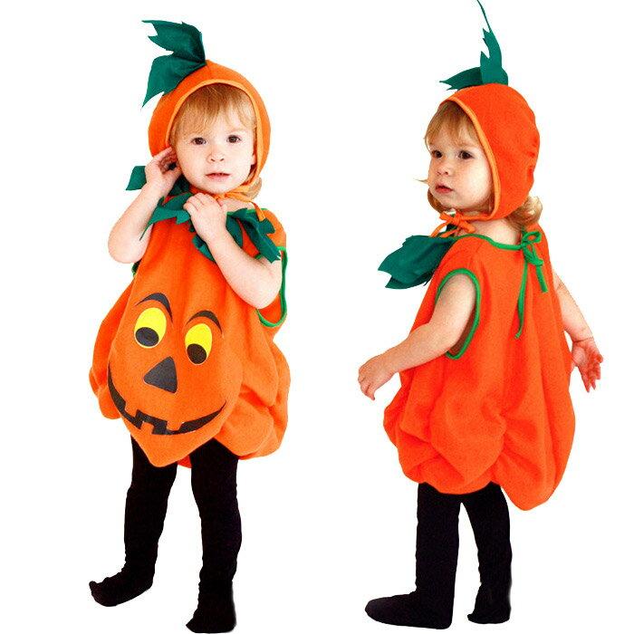 ハロウィン衣装 子供 かぼちゃ コスプレ ベビー 女の子 男の子 子供用 ハロウィン仮装 赤ちゃん 着ぐるみ カボチャ コスチューム ハロウィーン衣装 キッズ コスプレ コスチューム ハロウィン かぼちゃ