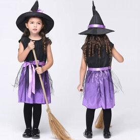 478c64e544a6d ハロウィン衣装 子供 魔女 悪魔 巫女 ワンピース 女の子 衣装 子供用 仮装 ハロウィーン ダンス衣装 キッズ