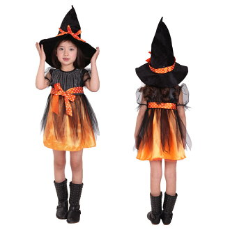 Halloween Outfits For Kids.Child Witch Apparition Of A Living Person Medium Disguise Costume Halloween Dance Clothes Kids Costume Play Costume Halloween Clothes Costume Play