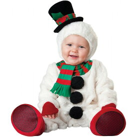 クリスマス 雪だるま スノーマン コスチューム 新生児 ベビー 着ぐるみ カバーオール ベビー服 男の子 女の子 ロンパース ベビーウェア クリスマス 衣装 仮装 防寒 秋冬服 出産祝い 誕生日 ギフト 年賀状
