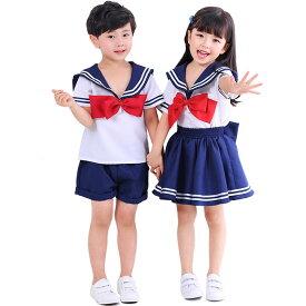ハロウィン 衣装 子供 セーラー服 コスチューム 水兵 コスプレ ハロウィン キッズ用 制服 マリンコスプレ 衣装 セーラー ホワイト 水色 海兵 セーラー服 定番 男の子 女の子
