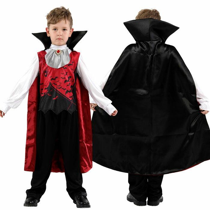 ハロウィン 衣装 子供 男の子 吸血鬼 バンパイア コウモリ ドラキュラ ヴァンパイア コスプレ ハロウィン コスチューム 悪魔 ハロウィン衣装 仮装 コスプレ新品!