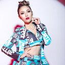 韓国風 ダンス衣装 ダンスウェア ファッション 三点セットアップステージ衣装 超セクシー ジャズJAZZ ガールズ ダンス…