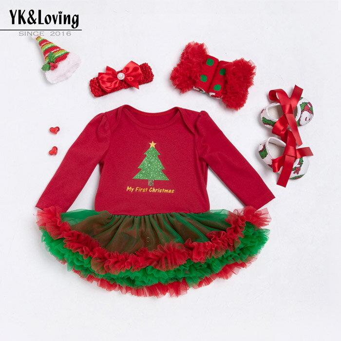 【クリスマス】ベビー クリスマス衣装 仮装 コスプレ サンタ 雪人 ベビー チュチュ ロンパース キッズ ベビー コスチューム ベビー服 チュチュロンパース チュチュスカート ふわふわチュチュ ベビーコスプレ 衣装 仮装