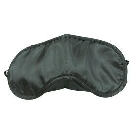 アイマスク(黒)│快適安眠グッズ 睡眠 旅行 仮眠 目隠し ブラック フリーサイズ 5000円以上送料無料
