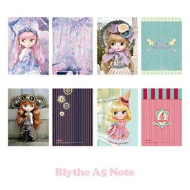 【ゆうパケット発送】Blythe A5 Note Book『ブライスA5ノート』全5種 リズビバーチェ LizVivace