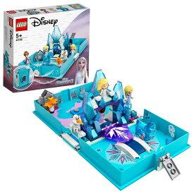 """レゴ ディズニープリンセス 43189 アナと雪の女王2 """"エルサとノックのストーリーブック"""""""