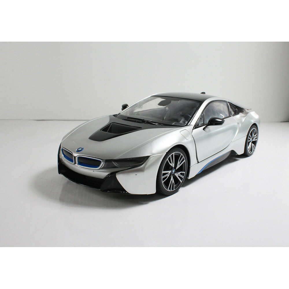トイザらス限定 RC 1/14 BMW i8 (オートドア・エディション) シルバー(40MHz)