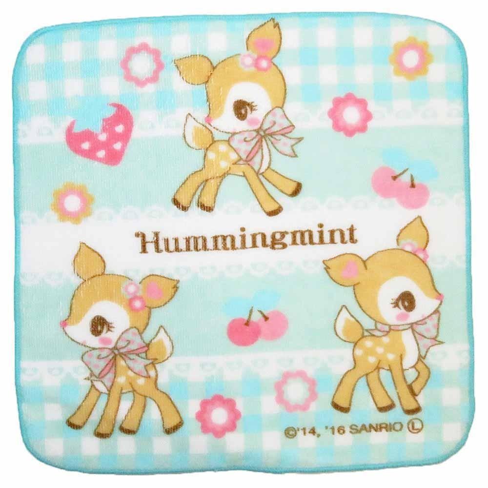 ミニタオル ハミングミント3(黄緑色)