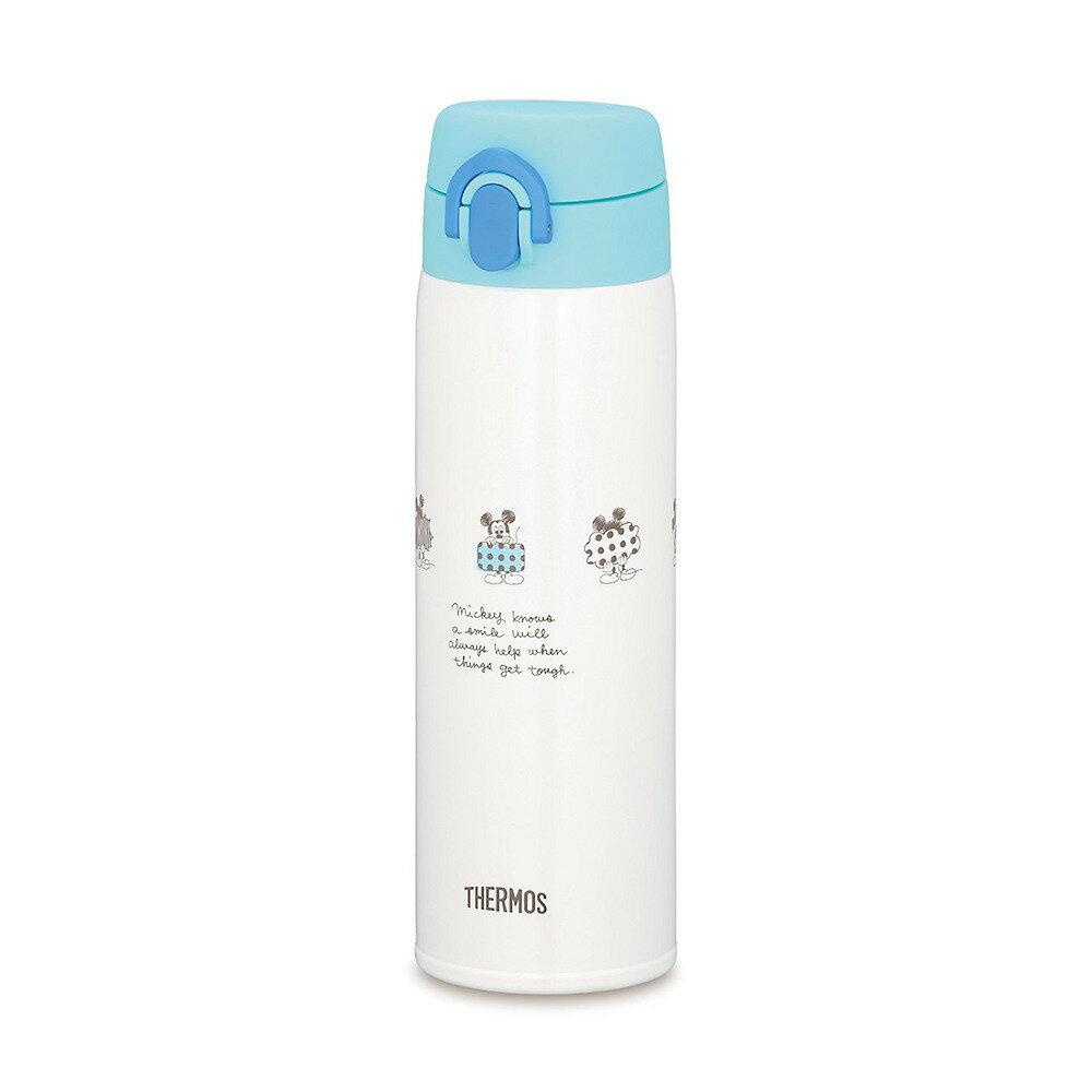 調乳用ステンレスボトル ミッキー ライトブルー(500ml)