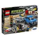 【クリアランス】レゴ スピードチャンピオン 75875 フォード F-150 ラプター&フォードモデル A ホットロッド