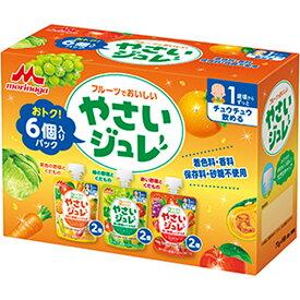 【森永】フルーツでおいしいやさいジュレ 6個入りパック 【12ヶ月〜】